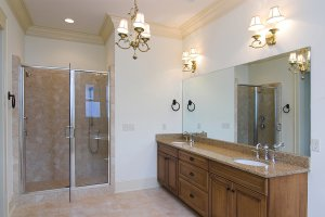 Lighting fixtures for bathroom